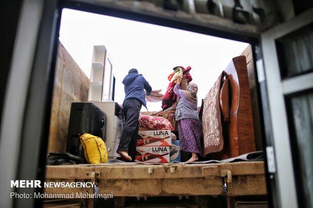 شدت گرفتن سیلاب در روستاهای استان گلستان - 15