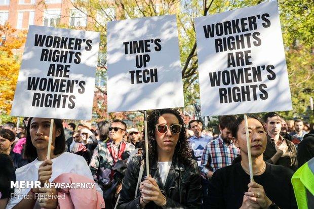 اعتراض کارکنان گوگل به آزار زنان - 10