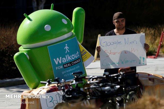 اعتراض کارکنان گوگل به آزار زنان - 22