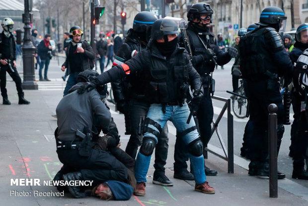 سیزدهمین شنبه اعتراضات در فرانسه - 4