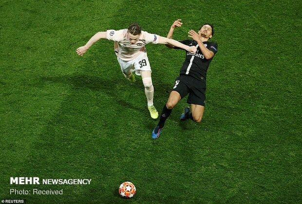 دیدار تیمهای فوتبال پاریسن ژرمن و منچستریونایتد - 28