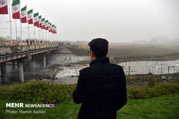 طغیان مسیل اصلی شهر مشهد - 31