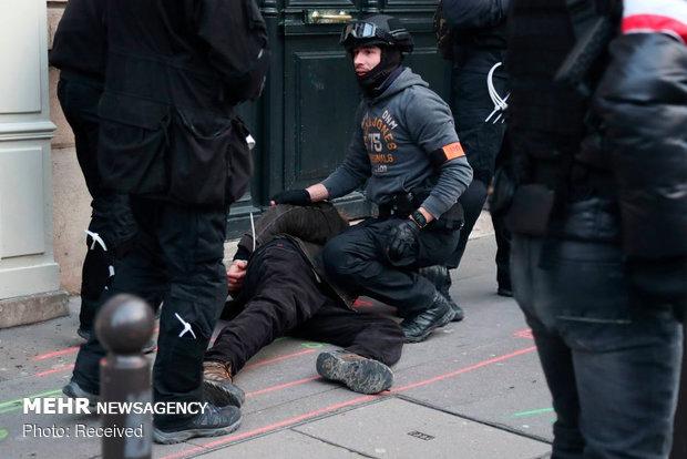 سیزدهمین شنبه اعتراضات در فرانسه - 6