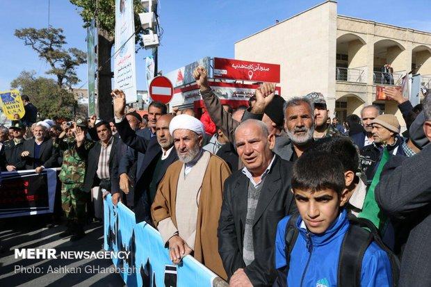 راهپیمایی استکبار ستیزی ۱۳ آبان در استانها - 6