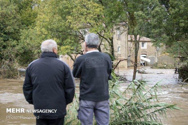 خسارات سیل در فرانسه - 10