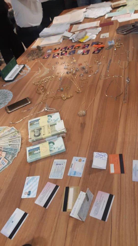 مامور قلابی سرقت مسلحانه ۵۰ میلیاردی را رقم زد - 11