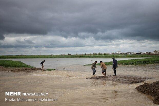 شدت گرفتن سیلاب در روستاهای استان گلستان - 35
