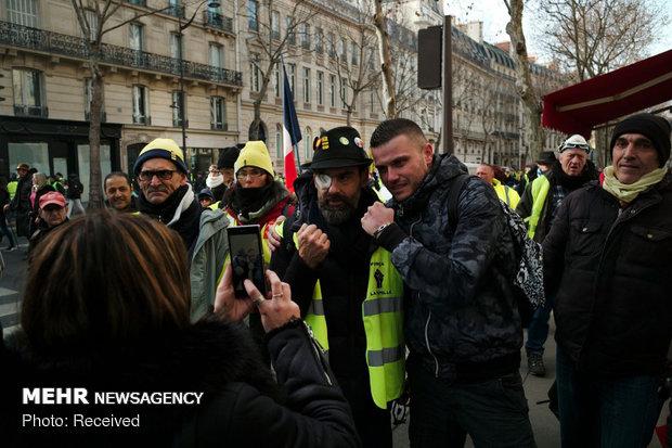 سیزدهمین شنبه اعتراضات در فرانسه - 39