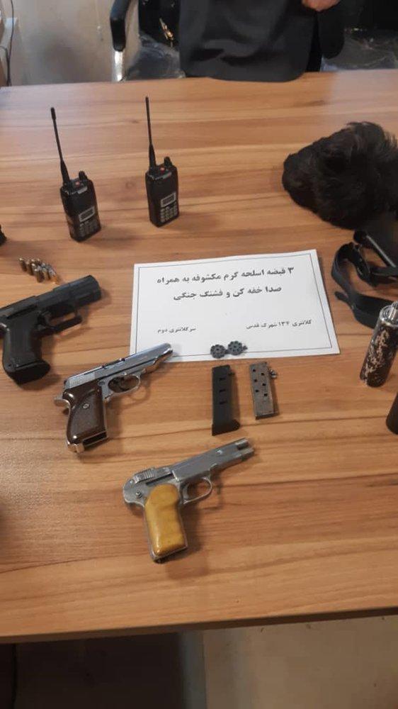 مامور قلابی سرقت مسلحانه ۵۰ میلیاردی را رقم زد - 21