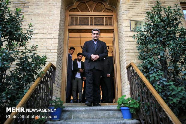 بازدید شهردار تهران از خانه موزه مدرس - 40