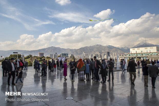 حال و هوای تهران در تعطیلات عید - 8