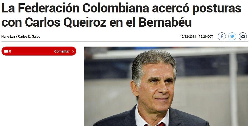 جزئیات مذاکره کلمبیا با کیروش در روزنامه مارکا اسپانیا - 4