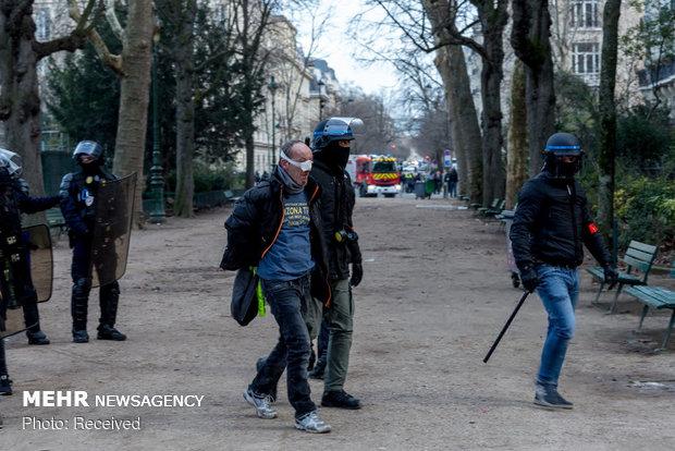 سیزدهمین شنبه اعتراضات در فرانسه - 45