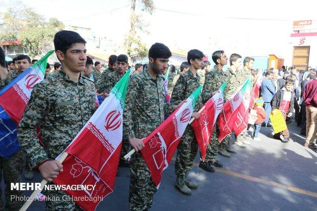 راهپیمایی استکبار ستیزی ۱۳ آبان در استانها - 16