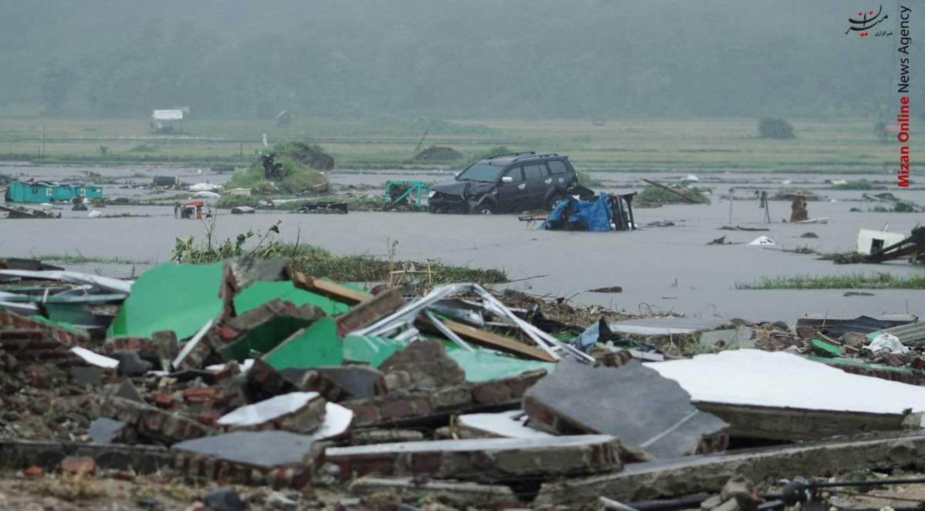 تصاویری از سونامی مرگبار در اندونزی - 6