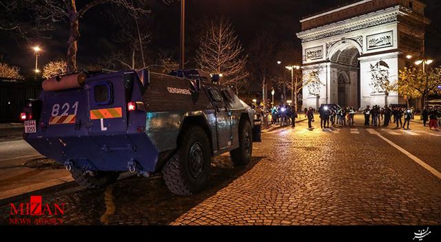 پاریس آرایش جنگی گرفت + فیلم - 4