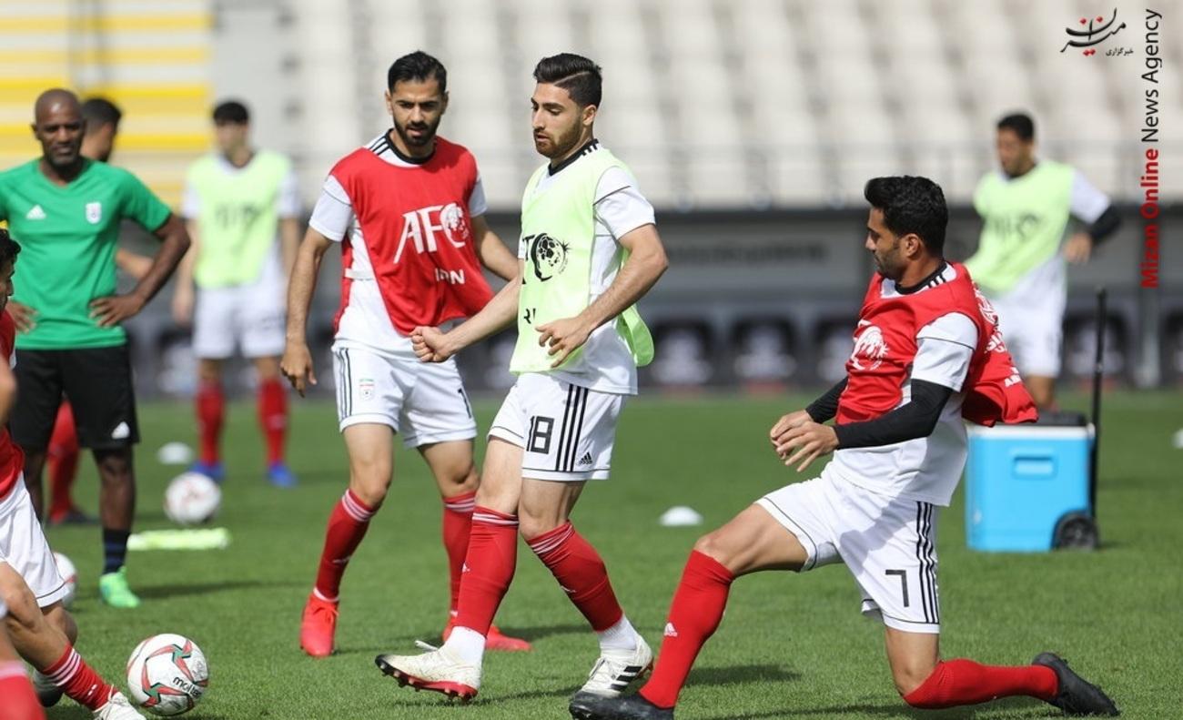 تمرین تیم ملی فوتبال - 13