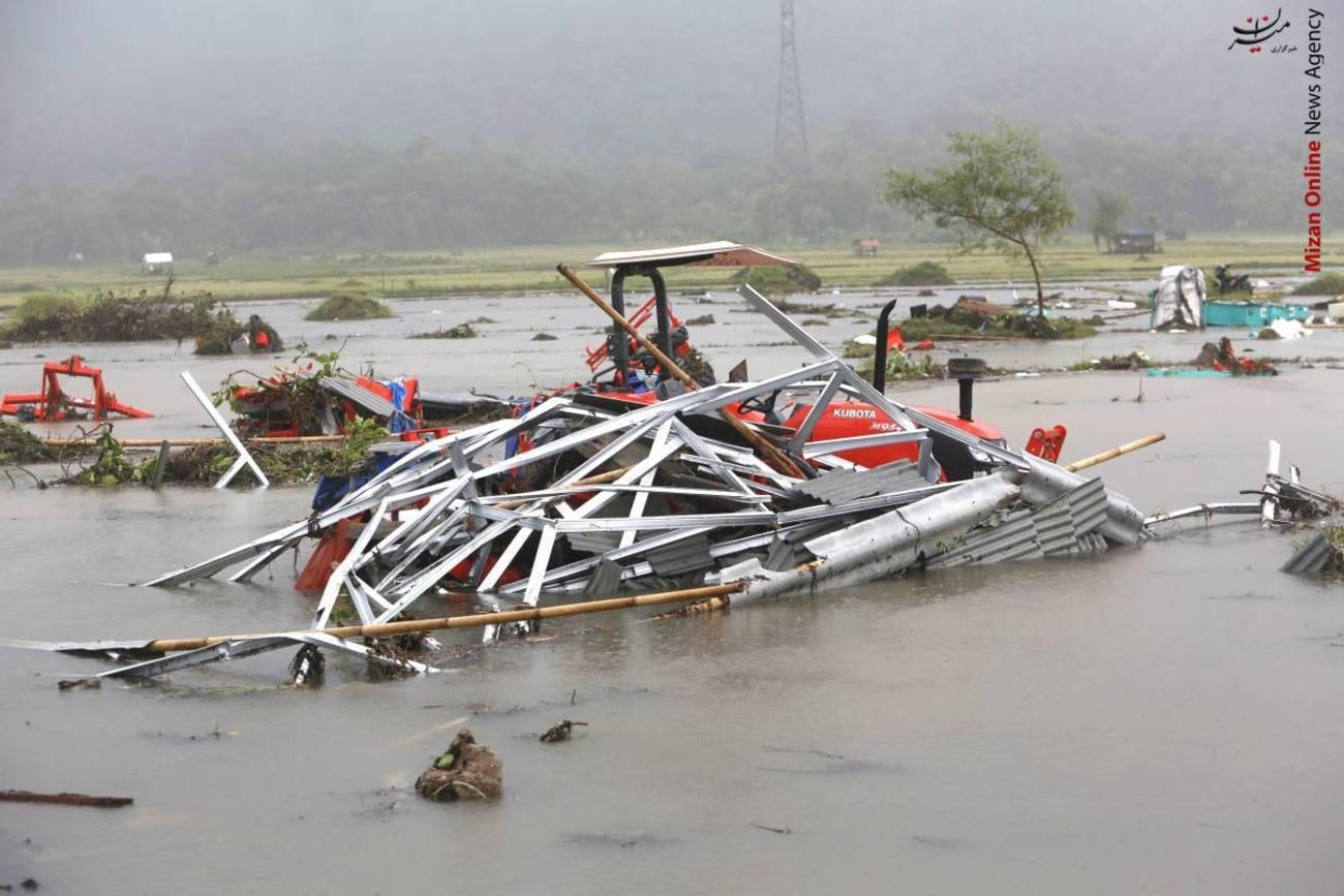 تصاویری از سونامی مرگبار در اندونزی - 8