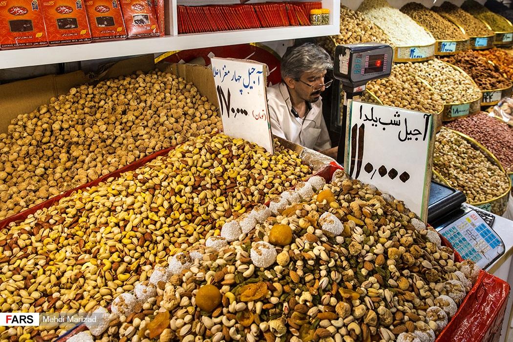 بازار آجیل شب یلدا +تصاویر - 5