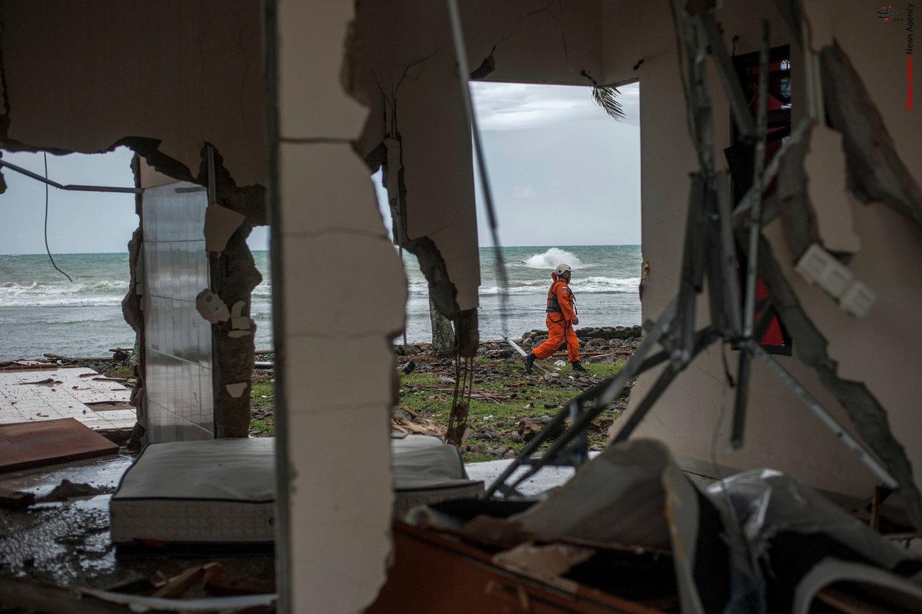 تصاویری از سونامی مرگبار در اندونزی - 19