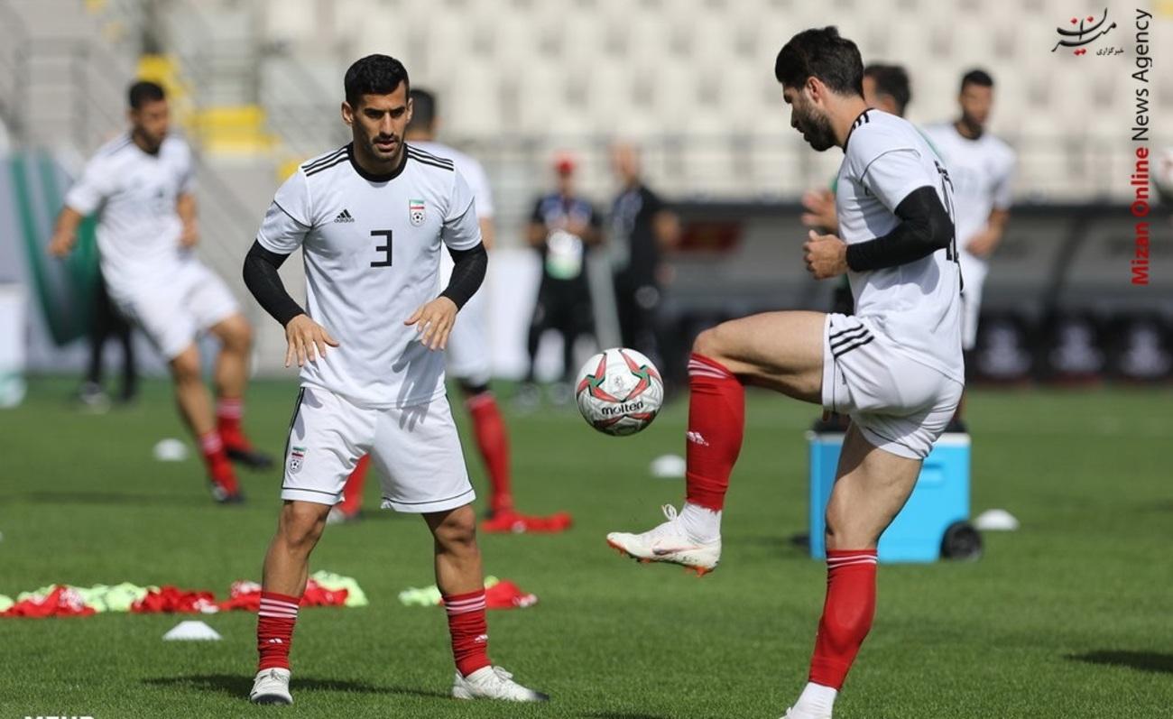 تمرین تیم ملی فوتبال - 6