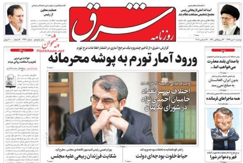 رئیس جدید مجمع تشخیص مصلحت /سیگنال هشدار از صادرات /ورود آمار تورم به پوشه محرمانه - 16