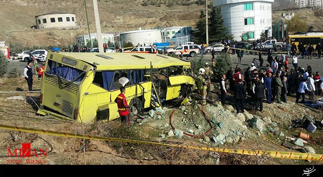 مرگ ۷ دانشجو در پی واژگونی اتوبوس دانشگاه آزاد + فیلم - 5