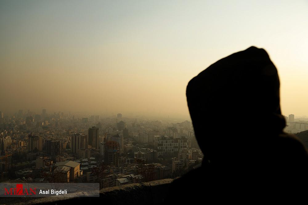 هوای تهران برای گروههای حساس ناسالم شد - 0