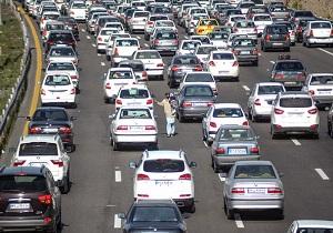 ترافیک در محور تهران- فیروزکوه نیمه سنگین است - 0