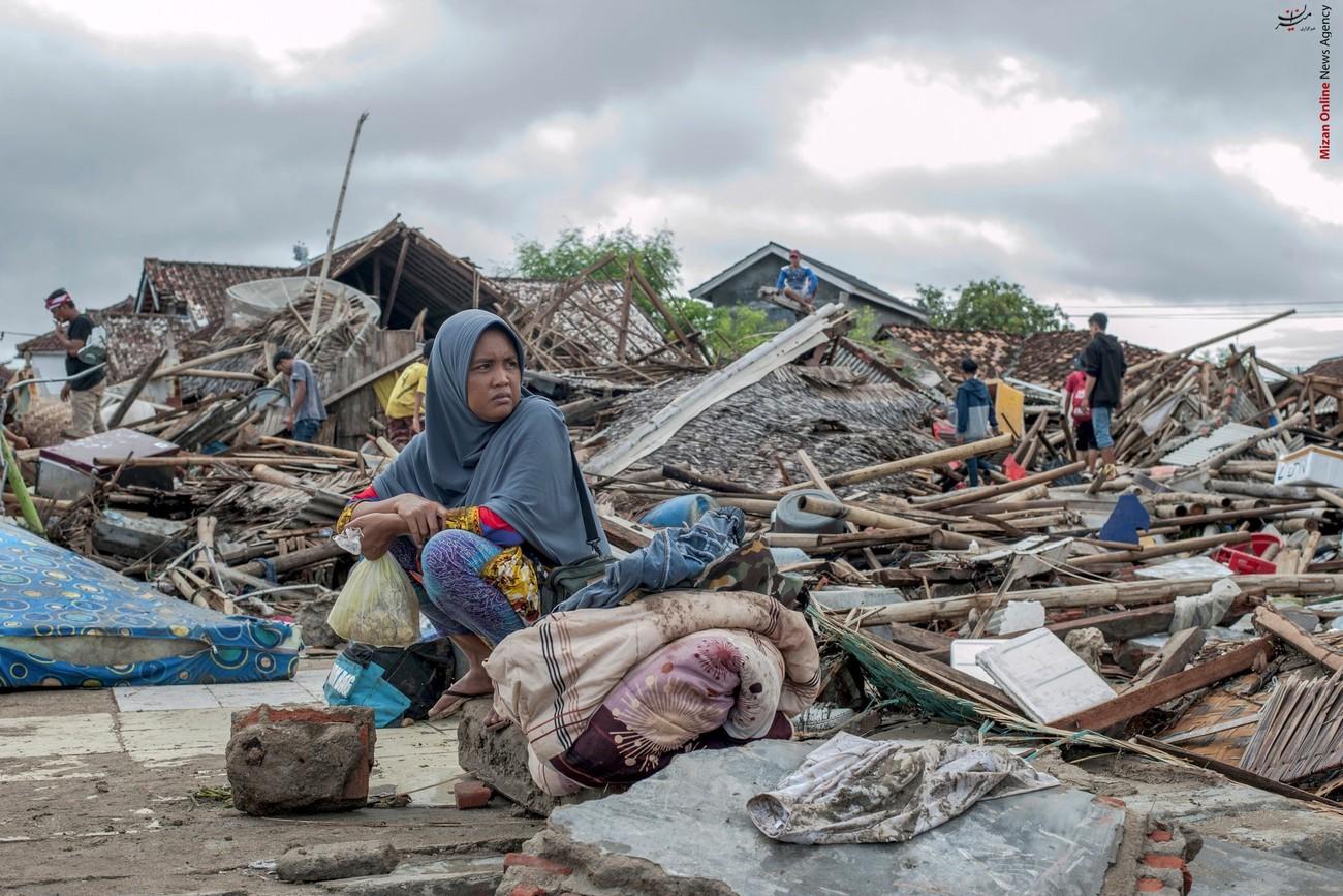 تصاویری از سونامی مرگبار در اندونزی - 5