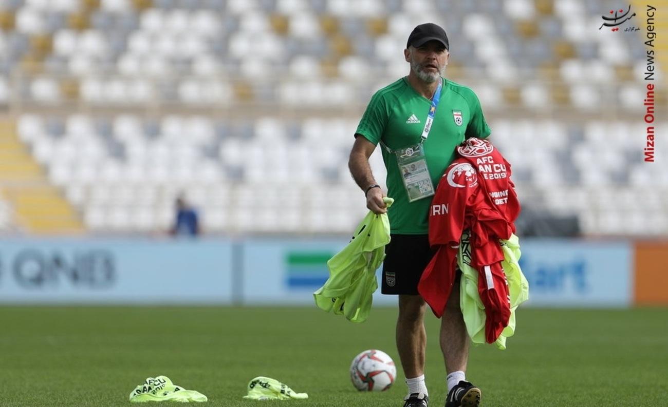 تمرین تیم ملی فوتبال - 16