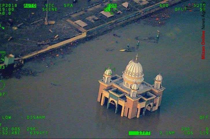 تصاویر هوایی از سونامی مرگبار در اندونزی - 4