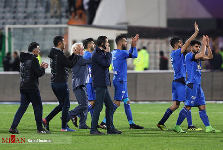 ۲ بازی دوستانه استقلال در اردوی قطر - 1