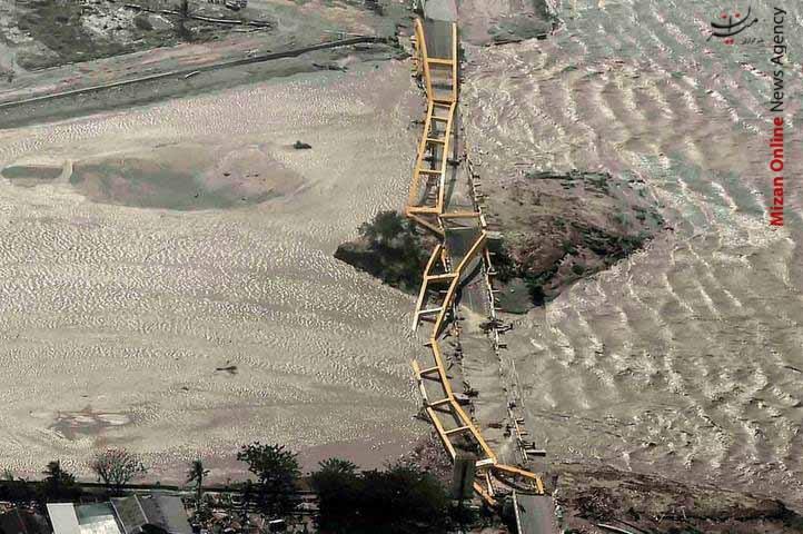 تصاویر هوایی از سونامی مرگبار در اندونزی - 5