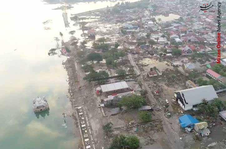 تصاویر هوایی از سونامی مرگبار در اندونزی - 6