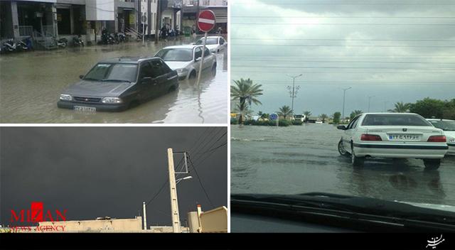 بارش شدید باران در بوشهر + فیلم - 3