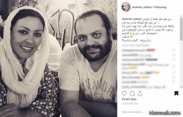 تسلیت چهره ها برای درگذشت همسر زیبا بروفه + تصاویر - 35