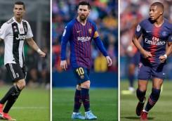 پردرآمدترین بازیکنان فوتبال اروپا؛ مسی بالاتر از رونالدو