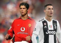 عکس؛ ۱۱ فوتبالیست مشهور در گذر زمان