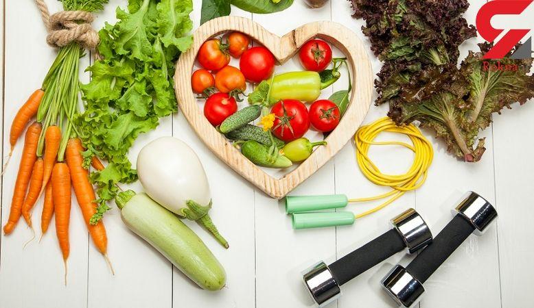 راز لاغری با داشتن برنامه غذایی سالم - 1