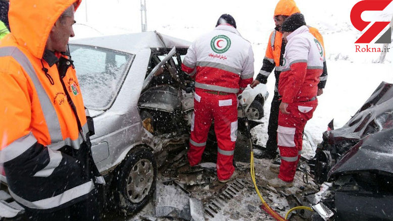 ۱۸۴ مسافر زمستانی متاثر از حوادث به مراکز درمانی منتقل شدند - 1