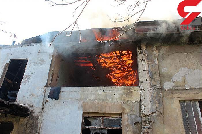 آتش سوزی وحشتناک در قلب بازار لاستیک تهران + عکسها - 1
