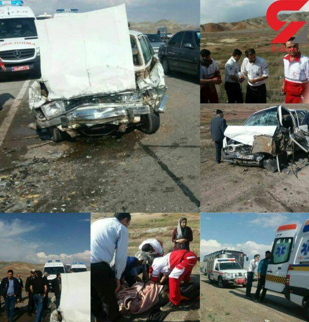 عکسهای وحشتناک از تصادف خونین در جاده تبریز + جزییات - 2