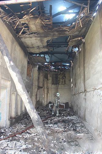 آتش سوزی وحشتناک در قلب بازار لاستیک تهران + عکسها - 11