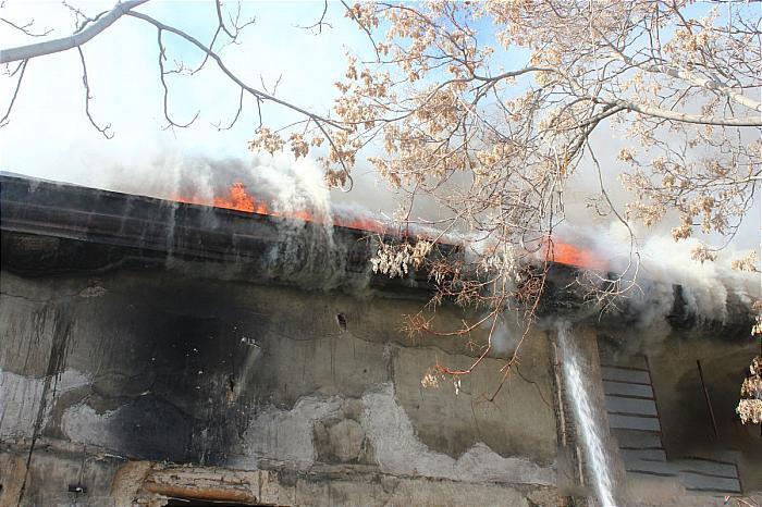 آتش سوزی وحشتناک در قلب بازار لاستیک تهران + عکسها - 9