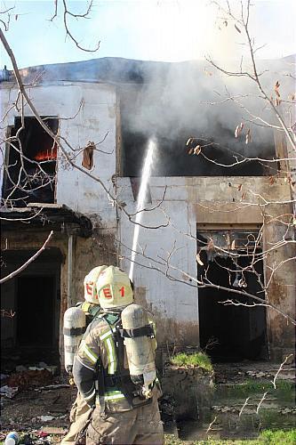 آتش سوزی وحشتناک در قلب بازار لاستیک تهران + عکسها - 4