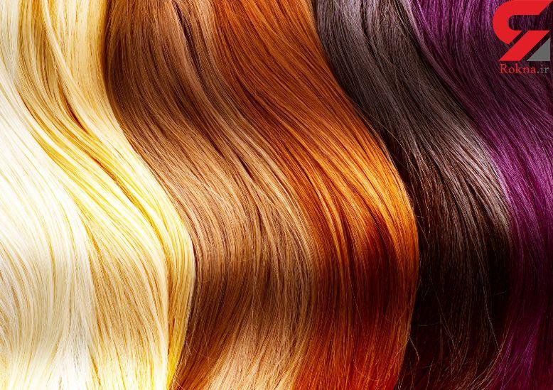 چگونه در خانه موهای مان را رنگ کنیم - 1