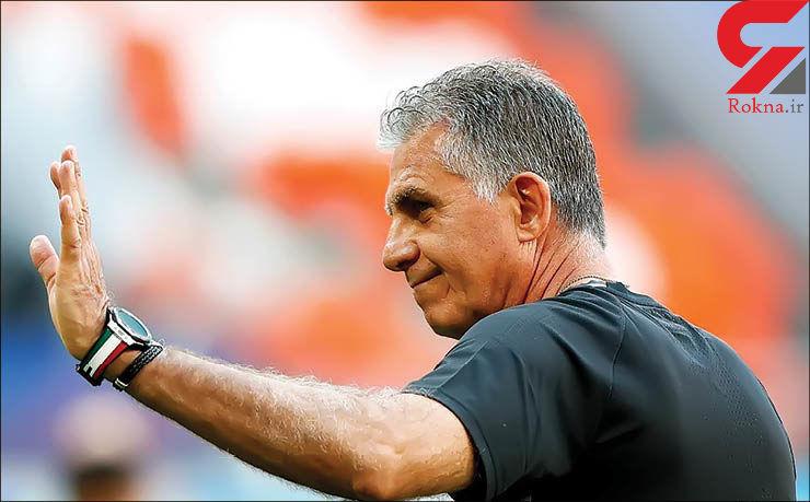 کیروش: وزیر ورزش به تیم ملی فوتبال احترام نگذاشت - 1