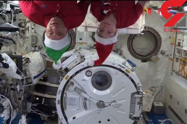 جشن کریسمس در فضا/برای پنجاهمین سال+عکس - 1