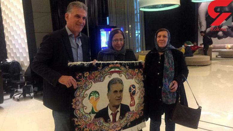کی روش هدیه تاج را به زن خوزستانی هدیه داد! + عکس - 2